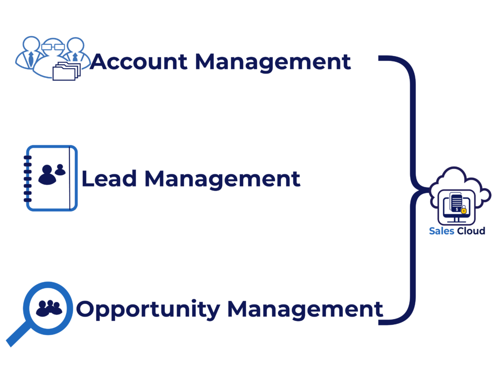SAP sales cloud allows you to manage accounts, leads, and opportunities